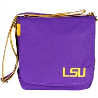 Louisiana State Foley Crossbody Handbag Purse Tigers LSU