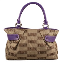 The Cinch Handbag Shoulder Bag Purse Louisiana State LSU