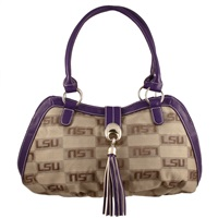 The Patriot Handbag Shoulder Bag Purse Louisiana State Tigers