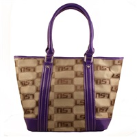 The International Handbag Shoulder Tote Bag Purse Louisiana State University