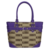 Louisiana Liberty Shoulder Purse Bag LSU Tiger