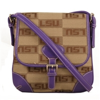 The Trendsetter Crossbody Bag Louisiana State Tigers
