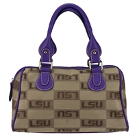 The Velvet Handbag Small Speedy Bag Purse Louisiana LSU