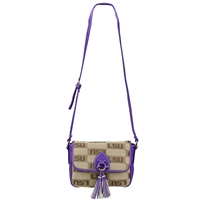 The Vintage Handbag Crossbody Bag Louisiana State University