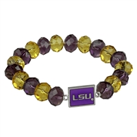 Homecoming Bead Bracelet | Louisiana State