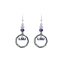 LSU Beaded Circle ER Erin