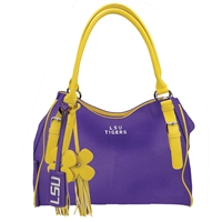 The Jet Set Handbag Purse Louisiana State University