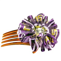 Hair Comb Accessory Louisiana State University Tigers