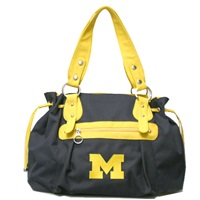 Jasmine Handbag Michigan Wolverine Shoulder bag