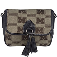 The Vintage Handbag Crossbody Bag Michigan Wolverines