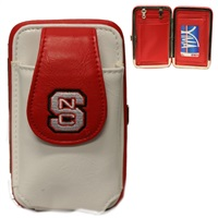 NC STATE 6046 | Mini Flat Wallet (White)