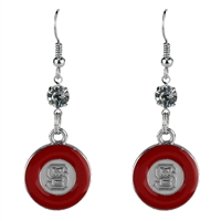 Color Pride Earrings | North Carolina State