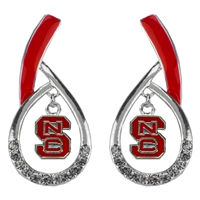 Tear Drop Earrings | North Carolina State