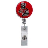 College Fashion North Carolina State University Retractable ID Looney Lanyard Badge Reel
