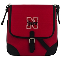Nebraska Collegiate Crossbody Bag