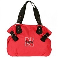Nebraska Billie Shoulder Handbag Corn Husker Purse
