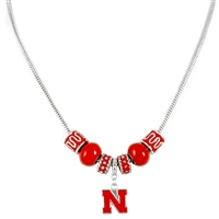 Charm Necklace | Nebraska Cornhuskers