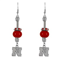 Homecoming Pride Earrings | Nebraska