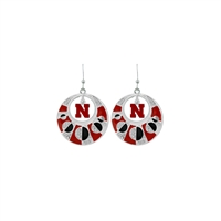 NEBRASKA 447 | Moon Circle Earrings