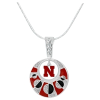 NEBRASKA 669 | Moon Circle Necklace