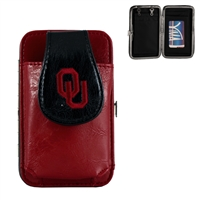 Mini Flat Wallet (Red) | Oklahoma