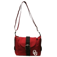 Oklahoma Kirsten Crossbody Handbag Purse OU Sooner