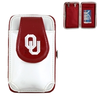 Mini Flat Wallet (White) | Oklahoma