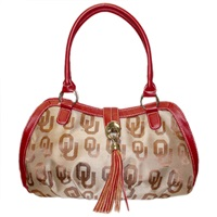 The Patriot Handbag Shoulder Bag Purse Oklahoma Sooners
