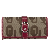 Oklahoma Marlo Wallet Custom Licensed Sooner Apparel