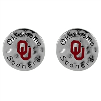 Oklahoma Circular Script Earrings | Eunice