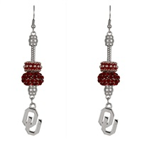 Beaded Dangle Earrings | Oklahoma