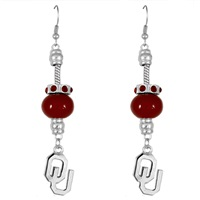 Homecoming Pride Earrings | Oklahoma