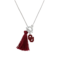 University of Oklahoma Norma Necklace