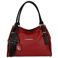 The Jet Set Handbag Purse Oklahoma Sooners