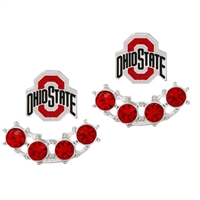 OHIO STATE 4042 | 3D EARRINGS