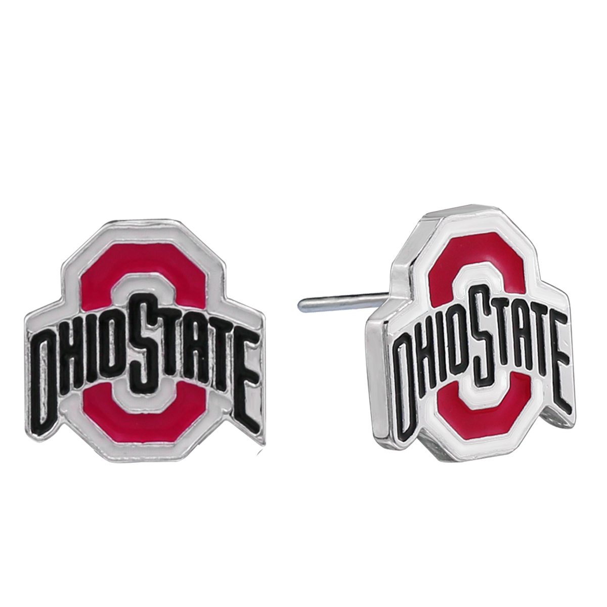 ohio state home decor.htm logo stud earrings ohio state university buckeyes  logo stud earrings ohio state
