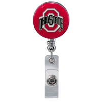 College Fashion Ohio State University Retractable ID Larry Lanyard Badge Reel
