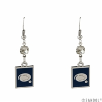 Square Dangle Earrings | Penn State