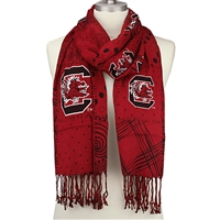 Mixed Print Scarf | South Carolina