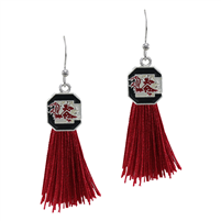 Tassel Charm Earrings University of South Carolina