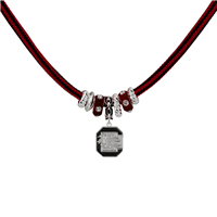 SOUTH CAROLINA 6064 | ROPE LOGO CHARM NECKLACE