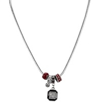 College Fashion Crystal University of South Carolina Logo Charms Natalya Necklace