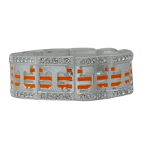 Square Stretch Bracelet UT Vols