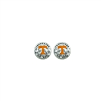 Tennessee Circular Script Earrings | Eunice