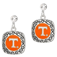 Crystal Squircle Earrings | Tennessee