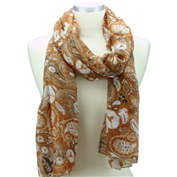 Paisley Scarf University of Texas
