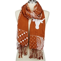 Mixed Print Scarf | Texas