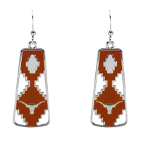 Texas Aztec Print Earrings | Elaine
