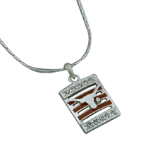 Texas Square Stripe Necklace | Nancy