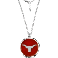 Nuria Necklace Texas Longhorns